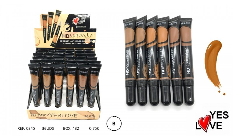 CONCEALER WITH BRUSH