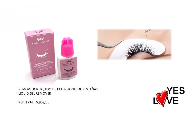 EYELASH EXTERSIONS REMOVER