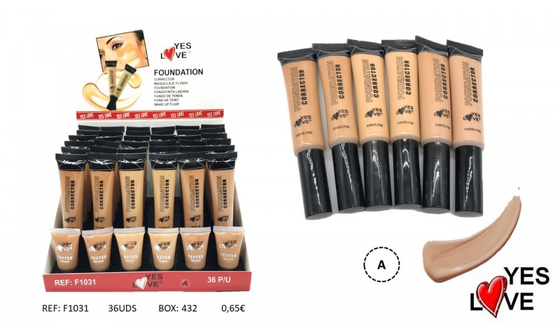 FOUNDATION CORRECTOR