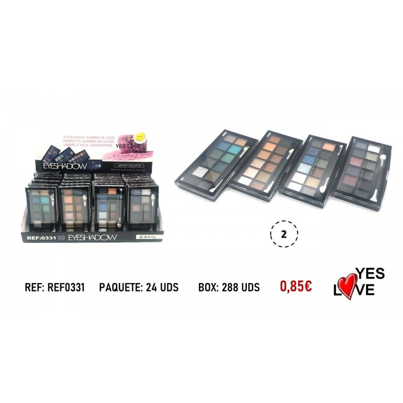 10 COLORS EYESHADOW
