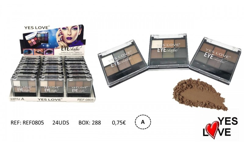 BROWN EYESHADOW PALETTE