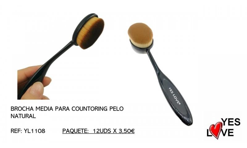 MEDIUM HAIR BRUSH FOR COUNTORING