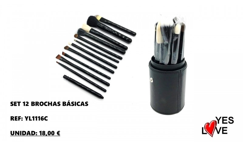 12 BASIC BRUSH BLACK