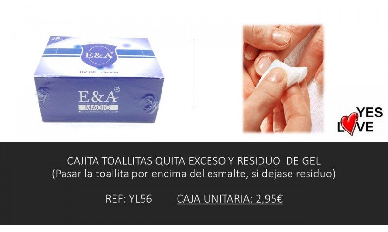 NAIL POLISH GEL EXCESS REMOVER TISSUE